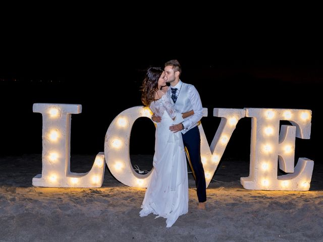 La boda de Marta y Ivan en La Manga Del Mar Menor, Murcia 310