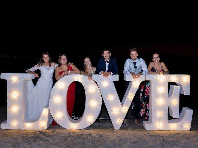 La boda de Marta y Ivan en La Manga Del Mar Menor, Murcia 318