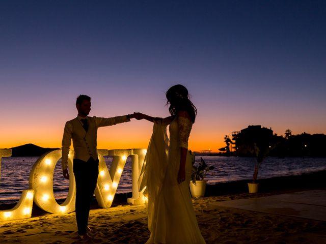 La boda de Marta y Ivan en La Manga Del Mar Menor, Murcia 341