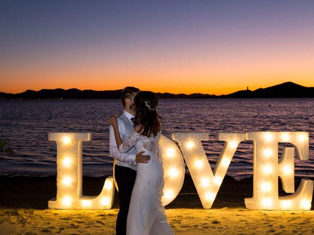 La boda de Marta y Ivan en La Manga Del Mar Menor, Murcia 344