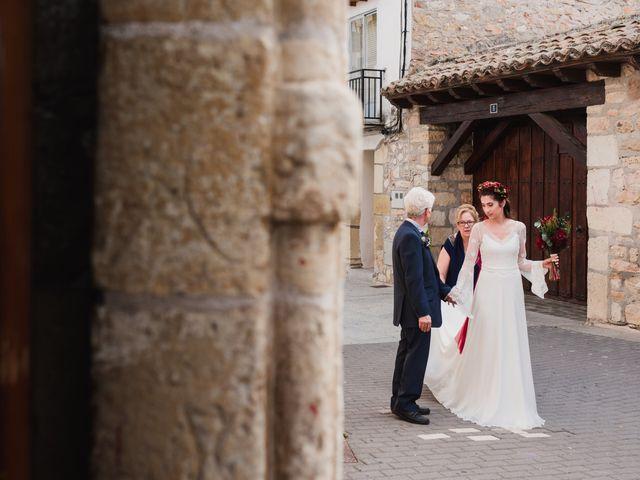 La boda de Samuel y Gema en El Molar, Madrid 1