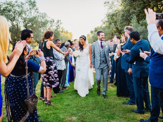 La boda de Sarika y Fintan