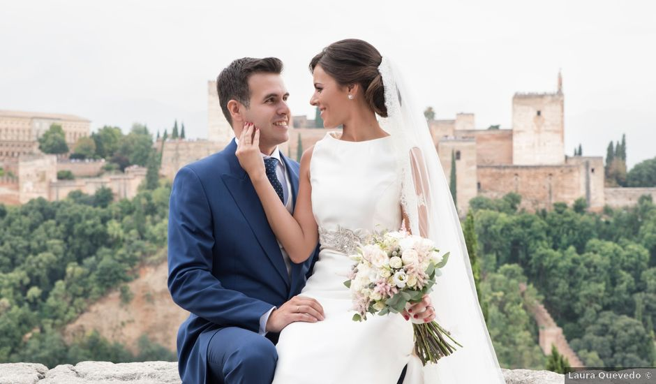 La boda de Daniel y Cristina en Huetor Vega, Granada