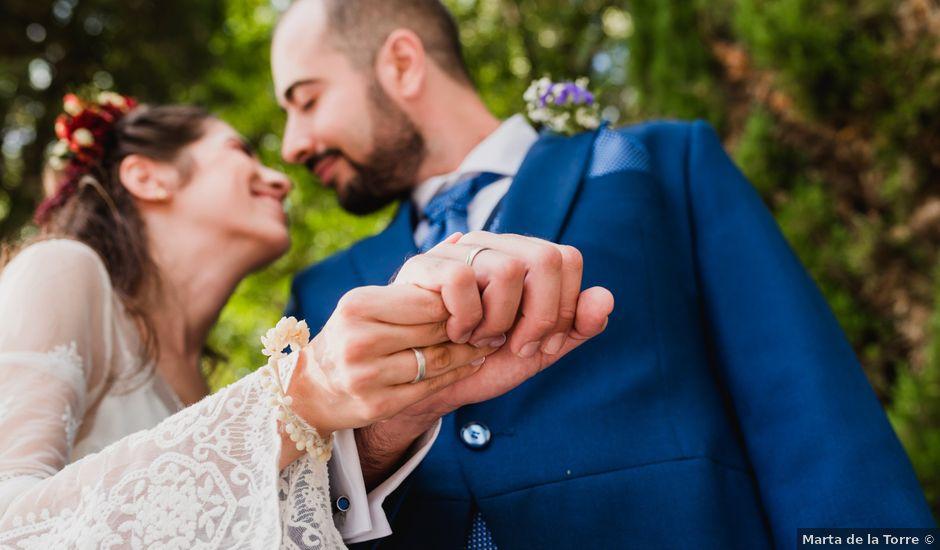 La boda de Samuel y Gema en El Molar, Madrid