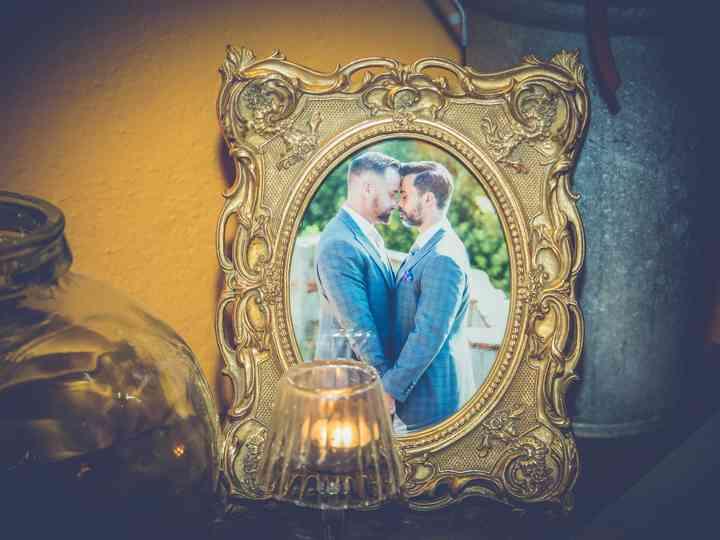 La boda de Alexandre y Andreas