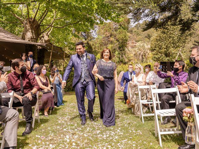 La boda de Denis y Alba en Arbucies, Girona 31