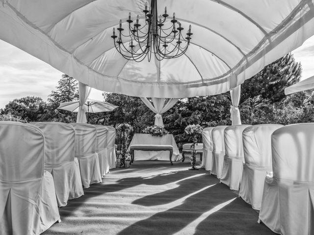 La boda de Diego y Ana en Torrelodones, Madrid 1