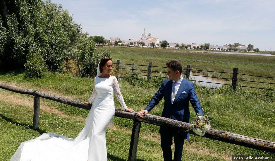 La boda de Raul y Lorena en El Rocio, Huelva