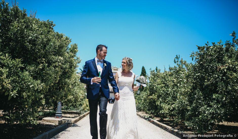La boda de Javier y Carmen en Polinyà De Xúquer, Valencia