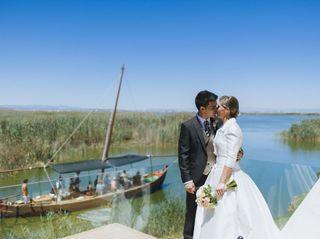 La boda de Sara y Xuso