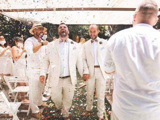 La boda de Francisco y Victor