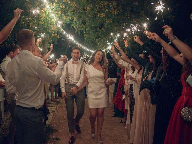 La boda de Mim y Dave
