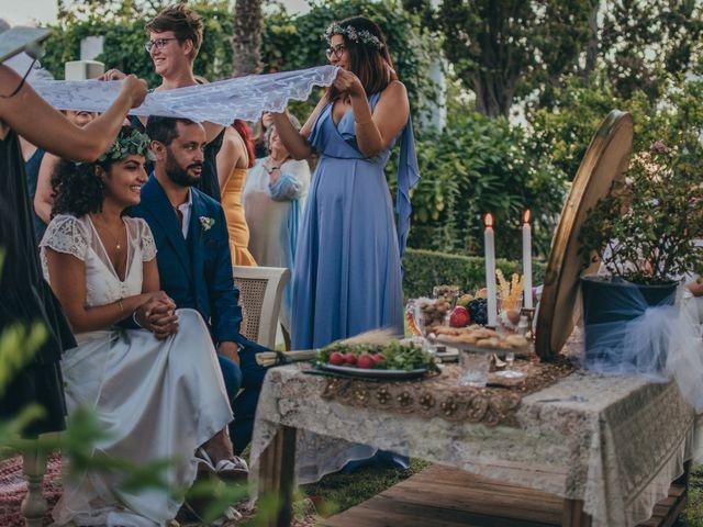 La boda de Mahdis y Andrew