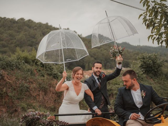 La boda de Pau y Laura en Sant Gregori (Municipio), Girona 1
