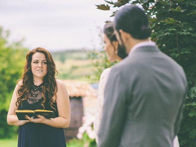 La boda de Arturo y Teresa en Quijas, Cantabria 114