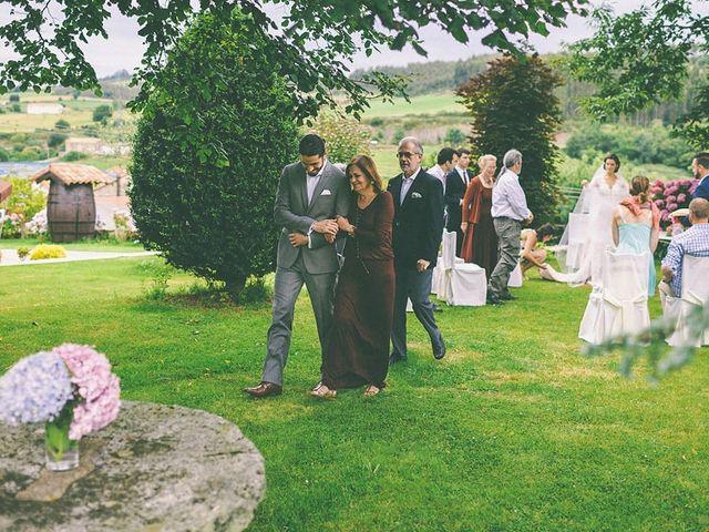 La boda de Arturo y Teresa en Quijas, Cantabria 117