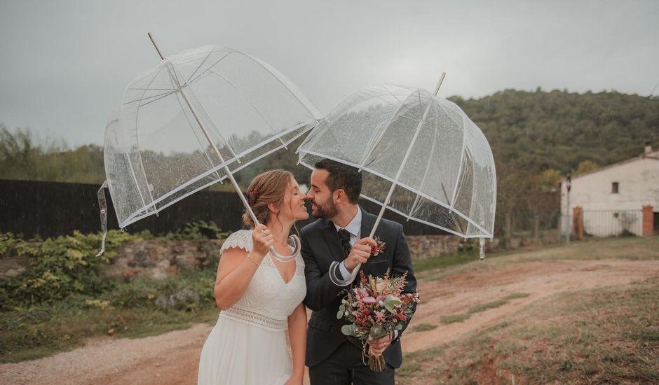 La boda de Pau y Laura en Sant Gregori (Municipio), Girona
