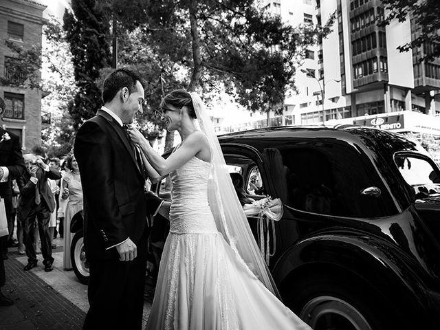 La boda de Juan y María en Cuarte De Huerva, Zaragoza 29