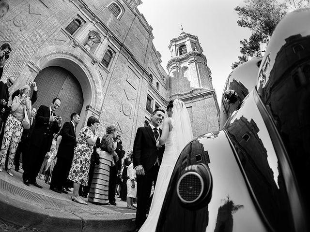 La boda de Juan y María en Cuarte De Huerva, Zaragoza 31