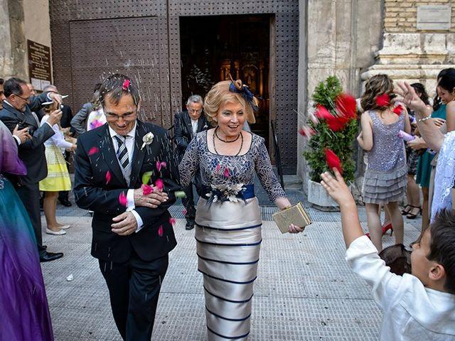 La boda de Juan y María en Cuarte De Huerva, Zaragoza 44