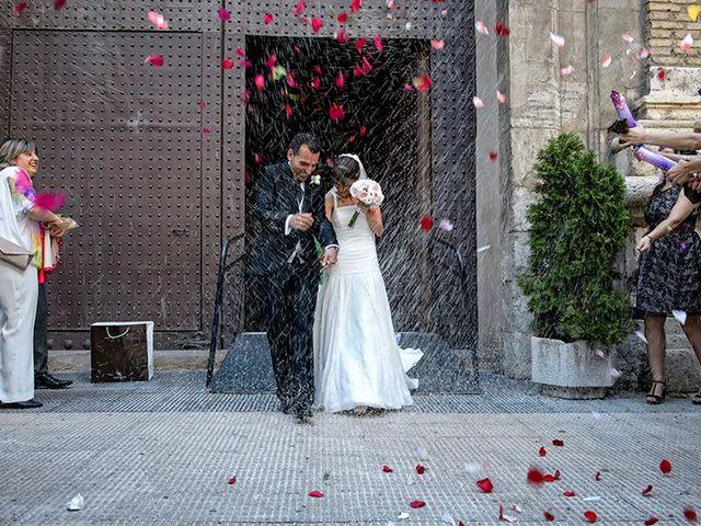 La boda de Juan y María en Cuarte De Huerva, Zaragoza 46