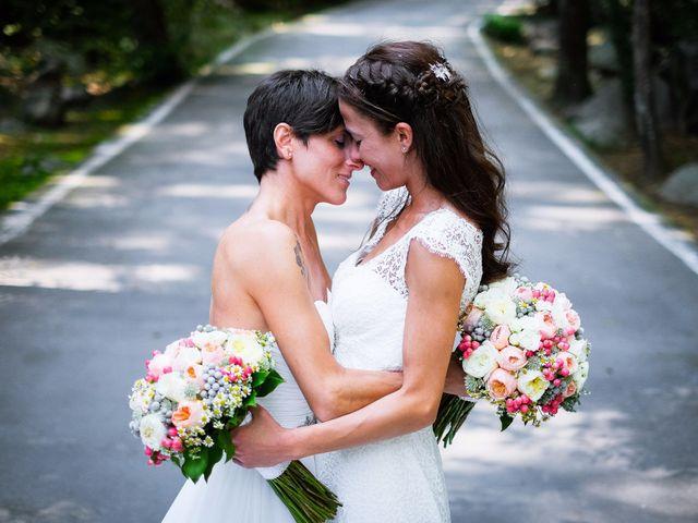 La boda de Laura y Yaiza