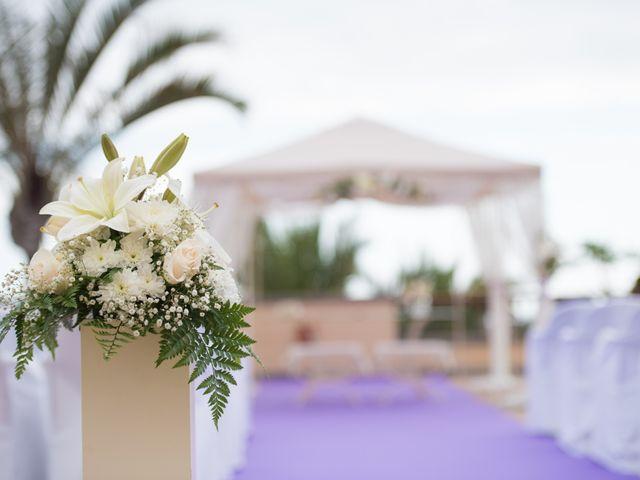 La boda de Damien y Dawn en Adeje, Santa Cruz de Tenerife 2