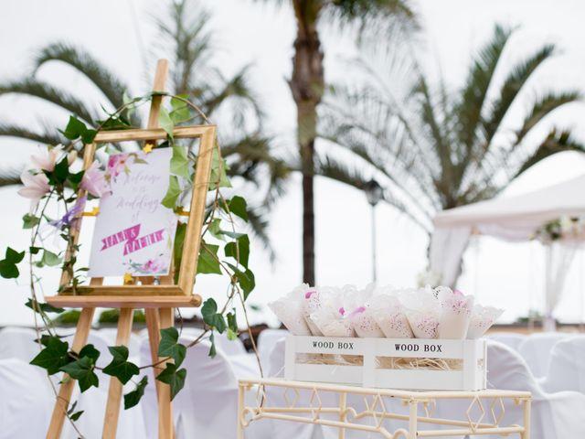 La boda de Damien y Dawn en Adeje, Santa Cruz de Tenerife 4
