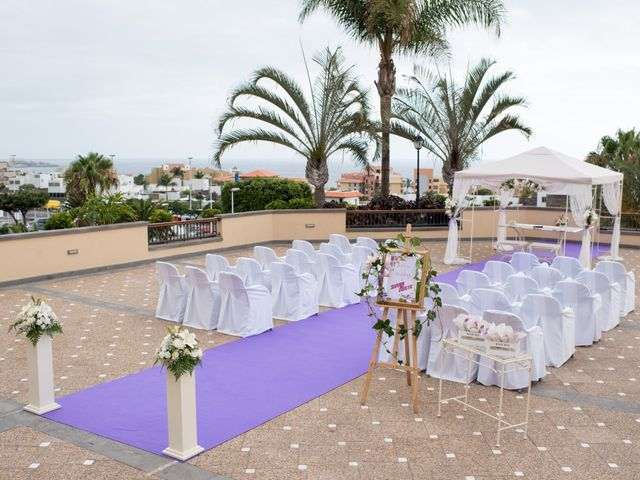 La boda de Damien y Dawn en Adeje, Santa Cruz de Tenerife 8