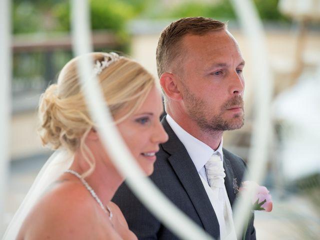 La boda de Dawn y Damien