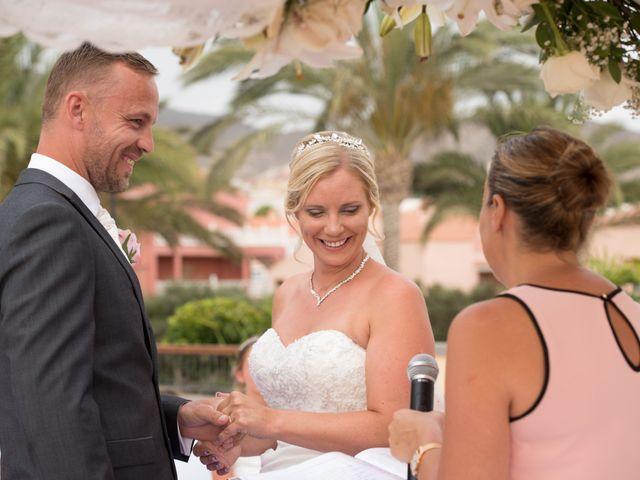 La boda de Damien y Dawn en Adeje, Santa Cruz de Tenerife 20