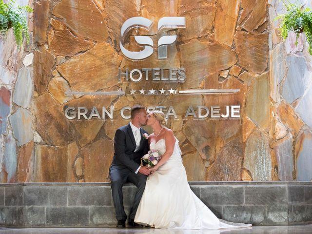 La boda de Damien y Dawn en Adeje, Santa Cruz de Tenerife 26