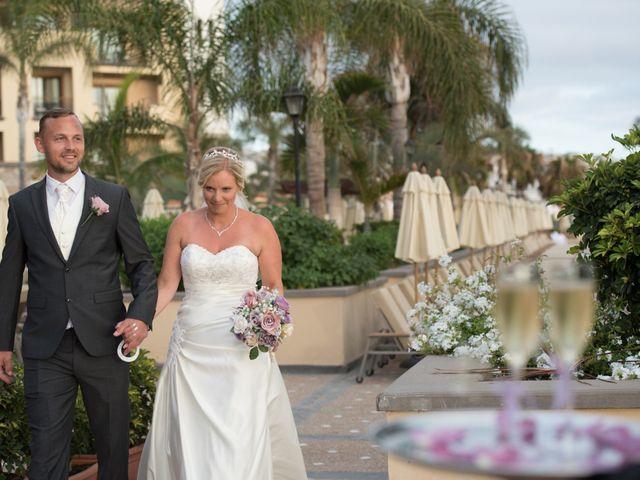 La boda de Damien y Dawn en Adeje, Santa Cruz de Tenerife 33