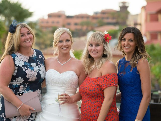 La boda de Damien y Dawn en Adeje, Santa Cruz de Tenerife 34