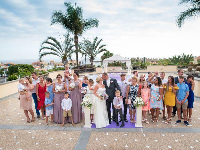 La boda de Damien y Dawn en Adeje, Santa Cruz de Tenerife 48