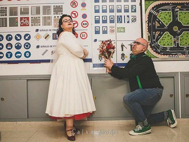 La boda de Chema y Nuria en Aspe, Alicante 1