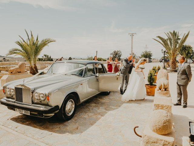 La boda de Eion y Chiara en San Miguel De Salinas, Alicante 56