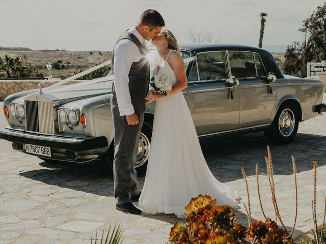 La boda de Eion y Chiara en San Miguel De Salinas, Alicante 102