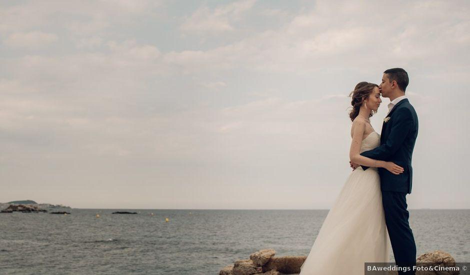 La boda de Llorenc y Esther en Platja D'aro, Girona