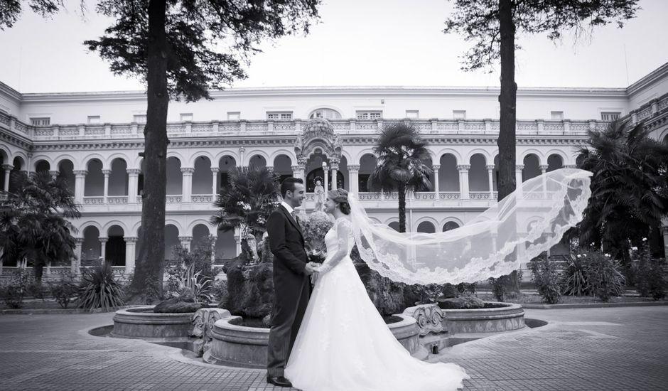 La boda de Santi y Marta en Guadalajara, Guadalajara