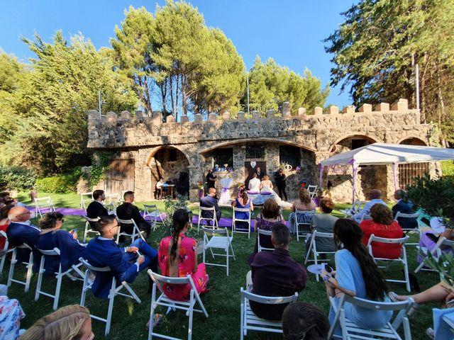 La boda de Raul y Miriam en Chinchon, Madrid 2