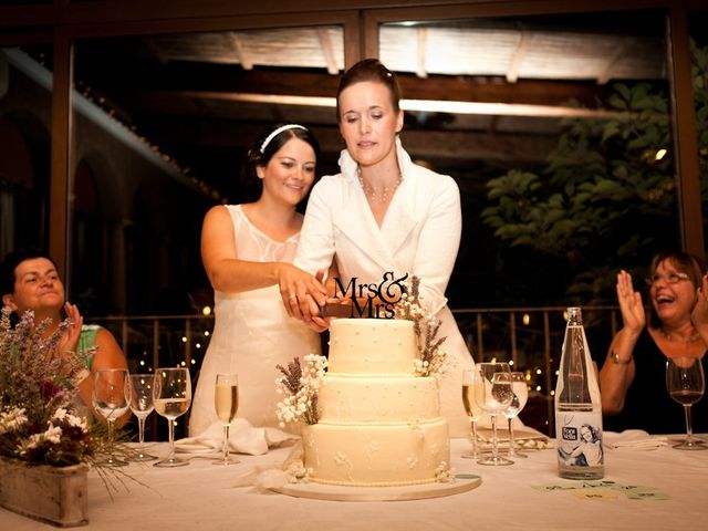 La boda de Lydia y Stephanie