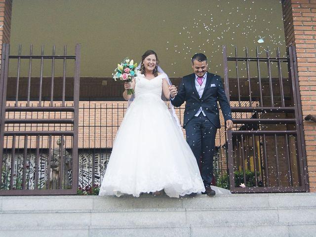 La boda de Almudena y Geovanni