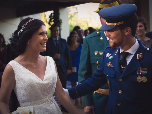La boda de Federico y Verónica en Villanueva De Gallego, Zaragoza 16