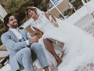 La boda de Augusta y Raffaele