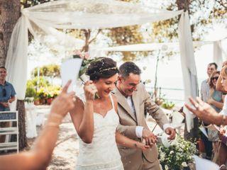 La boda de Aida y Mathieu