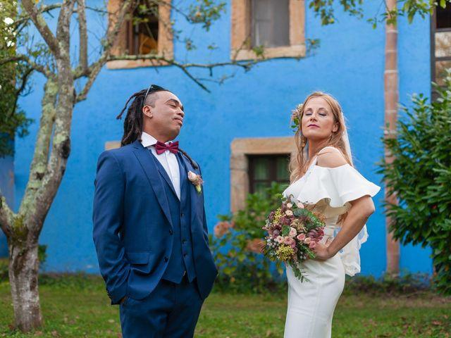 La boda de Luciano y Patricia en Amandi, Lugo 61