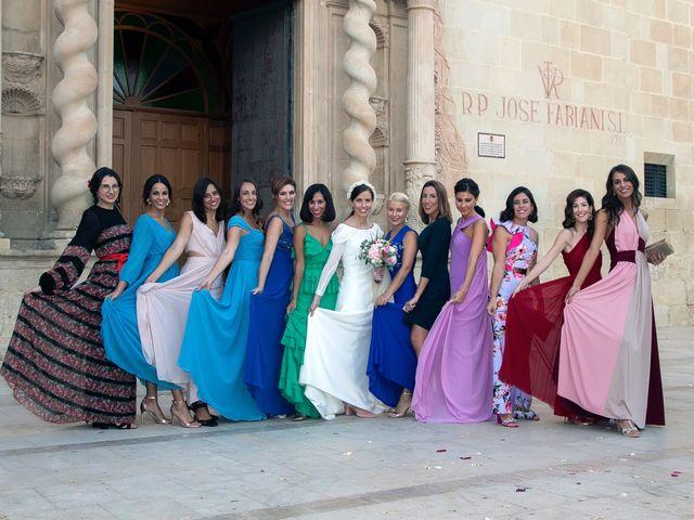 La boda de Juanjo y Bárbara en Alacant/alicante, Alicante 28
