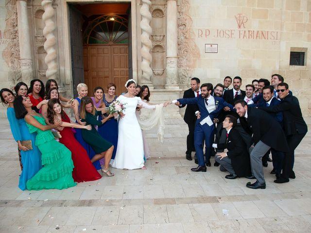 La boda de Juanjo y Bárbara en Alacant/alicante, Alicante 40