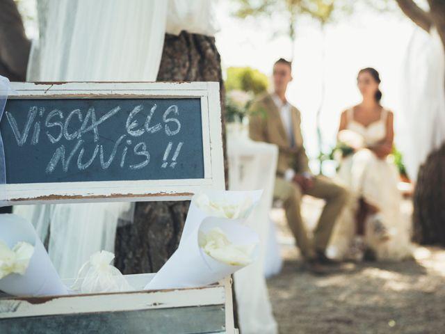 La boda de Mathieu y Aida en L' Ampolla, Tarragona 85